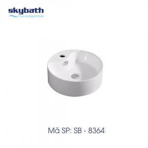 Chậu rửa mặt đặt bàn SKYBATH mã SB-8364