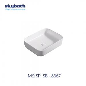Chậu rửa mặt đặt bàn skybath SB-8367