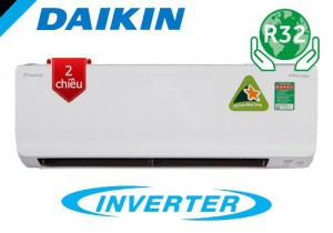 Điều hòa Daikin 2 chiều 12000btu inverter FTHF35RAVMV